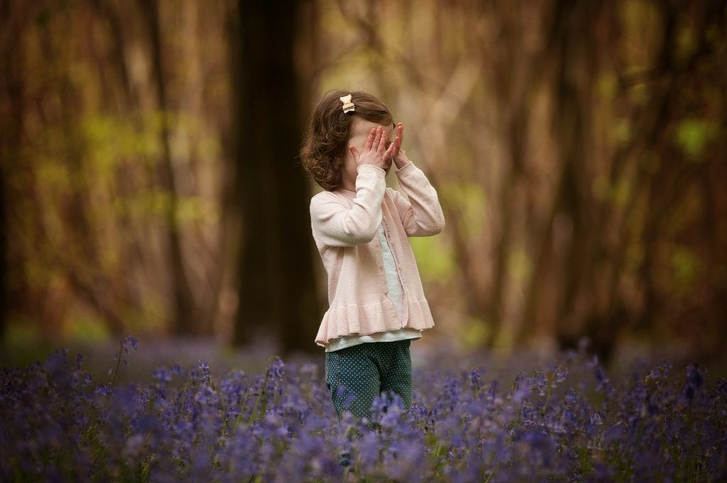 bluebells, family photography, little girl, bluebell woods, woodnland, outdoor photos, andrews woods, orpington