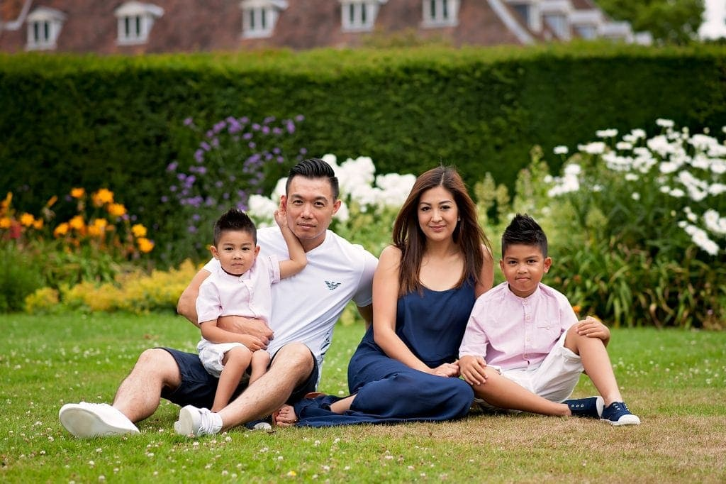 chinese family photographer, hall place, boys, sons, brothers, spring, family photos
