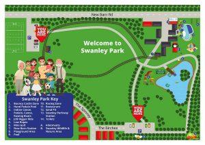 Swanley Park Map, Ashleigh Shea Photography