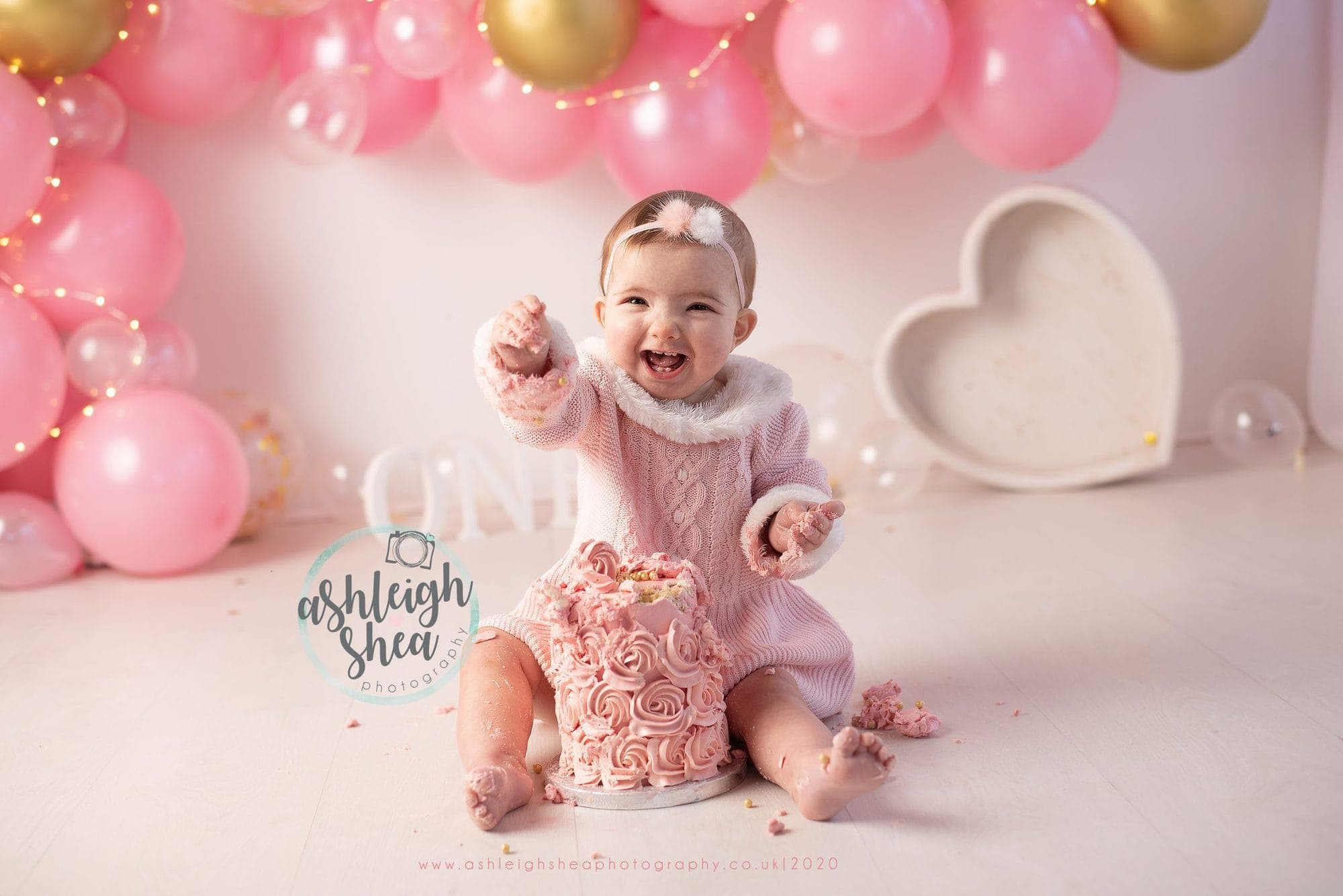 Cake, Birthday, Bromley, Kent, London, Cake Smash, Ashleigh Shea Photography