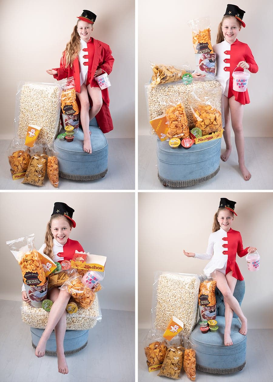 Movie Night, Popcorn, Movie Attendant, Scott Cinemas, Movie PAckage, Ashleigh Shea Photography