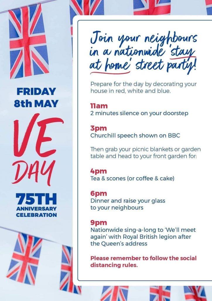 VE Day, Ashleigh Shea Photography, Bromley, Orpington, Street Party, Front Garden Party, Winston Churchill