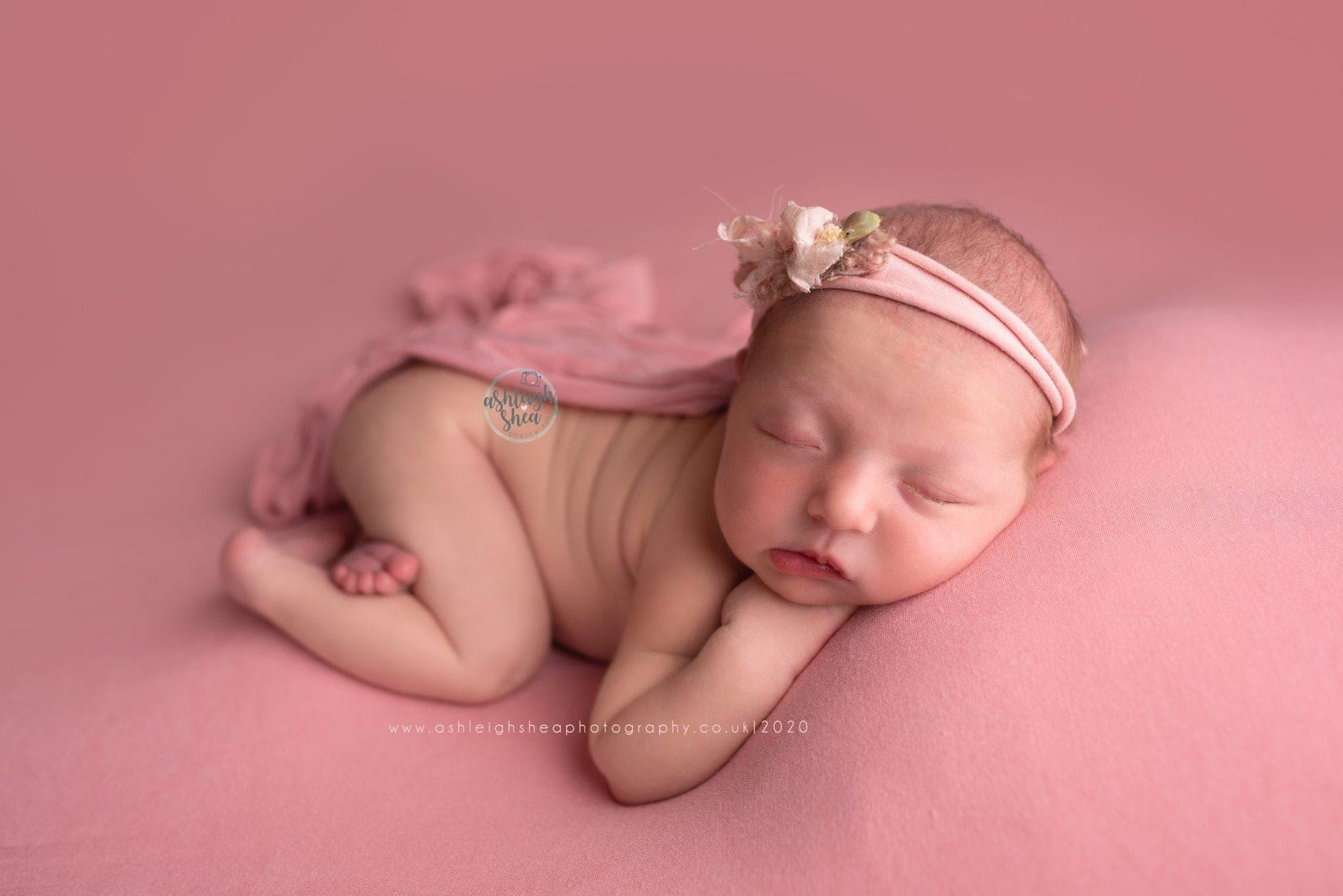 Baby Girl newborn photo, Bromley, Kent, Ashleigh Shea Photography,