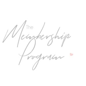membership program, some little changes, ashleigh shea photography, yearly photography